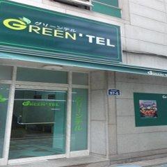 Отель Goodstay Greentel Сеул банкомат