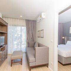 Отель Dlux Condominium Таиланд, Бухта Чалонг - отзывы, цены и фото номеров - забронировать отель Dlux Condominium онлайн комната для гостей фото 5