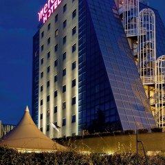 Hotel Mercure Paris Porte de Pantin вид на фасад фото 2