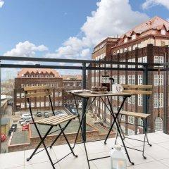 Апартаменты Elite Apartments Cityview Center Гданьск балкон