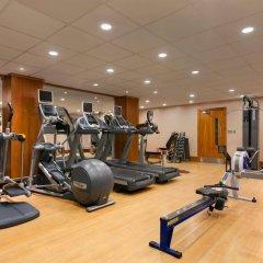 Отель Hilton London Canary Wharf фитнесс-зал