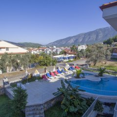 Infinity Olympia Apartments Турция, Олудениз - отзывы, цены и фото номеров - забронировать отель Infinity Olympia Apartments онлайн балкон