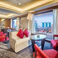 Отель Novotel Singapore Clarke Quay комната для гостей фото 4