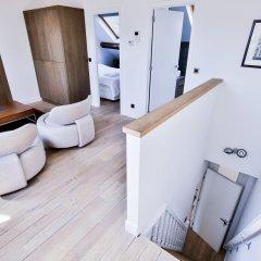 Апартаменты Royal Apartments Botanique Брюссель комната для гостей