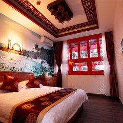 Beijing 161 Lama Temple Courtyard Hotel комната для гостей