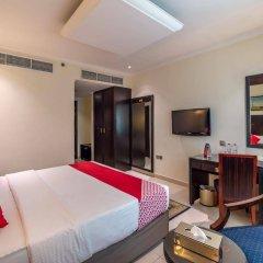 Smana Hotel Al Raffa Дубай сейф в номере