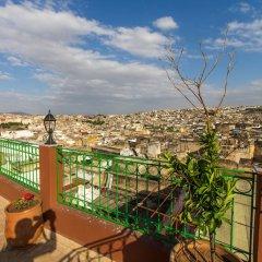 Отель Riad Al Fassia Palace Марокко, Фес - отзывы, цены и фото номеров - забронировать отель Riad Al Fassia Palace онлайн балкон