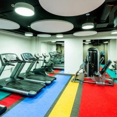Отель Park Inn Central Tallinn фитнесс-зал