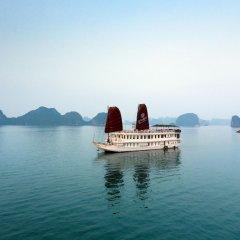 Отель Garden Bay Legend Cruise Вьетнам, Халонг - отзывы, цены и фото номеров - забронировать отель Garden Bay Legend Cruise онлайн приотельная территория фото 2