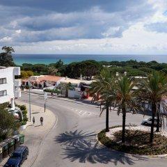 Отель Muthu Oura Praia Hotel Португалия, Албуфейра - 1 отзыв об отеле, цены и фото номеров - забронировать отель Muthu Oura Praia Hotel онлайн балкон