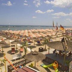 Hotel Alba DOro пляж фото 2