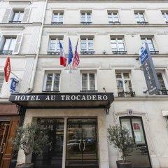 Отель Best Western Au Trocadero вид на фасад фото 4