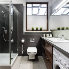 Отель Elite Apartments Galileo Польша, Познань - отзывы, цены и фото номеров - забронировать отель Elite Apartments Galileo онлайн ванная фото 2