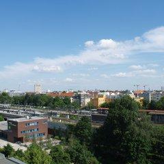 Happy Go Lucky Hotel + Hostel Берлин балкон