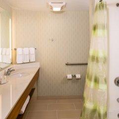 Отель SpringHill Suites by Marriott New York LaGuardia Airport США, Нью-Йорк - отзывы, цены и фото номеров - забронировать отель SpringHill Suites by Marriott New York LaGuardia Airport онлайн ванная