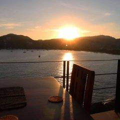 Отель Casa Sandbar Мексика, Сиуатанехо - отзывы, цены и фото номеров - забронировать отель Casa Sandbar онлайн приотельная территория фото 2