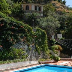 Отель Residence Villa Rosa Италия, Равелло - отзывы, цены и фото номеров - забронировать отель Residence Villa Rosa онлайн бассейн фото 2