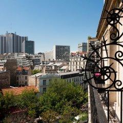 Отель Odessa Montparnasse Париж балкон фото 3