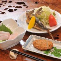 Отель Minshuku Yakusugi-sou Якусима питание фото 3