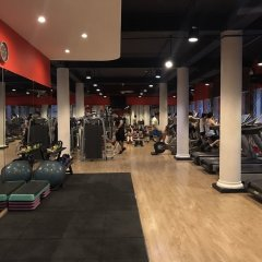 Ham Long Sunny Hotel фитнесс-зал