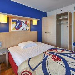 Отель Cumulus Hakaniemi 3* Стандартный семейный номер с двуспальной кроватью фото 7