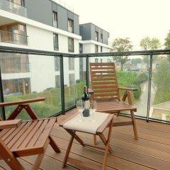 Апартаменты IRS ROYAL APARTMENTS Bursztynowa балкон