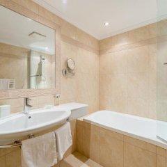 Отель Austria Bellevue Австрия, Хохгургль - отзывы, цены и фото номеров - забронировать отель Austria Bellevue онлайн ванная