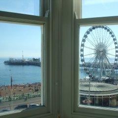 Отель Legends Hotel Великобритания, Кемптаун - отзывы, цены и фото номеров - забронировать отель Legends Hotel онлайн пляж фото 2