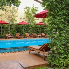 Отель Golden Sea Pattaya Hotel Таиланд, Паттайя - 10 отзывов об отеле, цены и фото номеров - забронировать отель Golden Sea Pattaya Hotel онлайн бассейн фото 2
