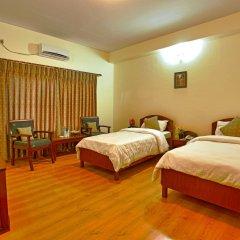Отель Crown Himalayas Непал, Покхара - отзывы, цены и фото номеров - забронировать отель Crown Himalayas онлайн комната для гостей фото 5