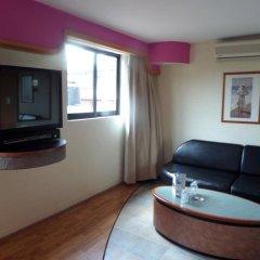 Отель Motel Los Prados - Adults Only Тлальнепантла-де-Бас комната для гостей фото 5