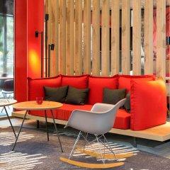 Отель ibis Muenchen Airport Sued гостиничный бар