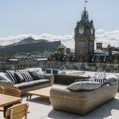 Отель The Edinburgh Grand Эдинбург бассейн