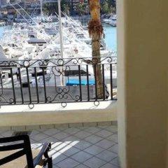 Отель Great Marina-view Nautical JR Suite IN Cabo Золотая зона Марина балкон