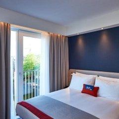 Отель Holiday Inn Express Amsterdam - City Hall Нидерланды, Амстердам - 2 отзыва об отеле, цены и фото номеров - забронировать отель Holiday Inn Express Amsterdam - City Hall онлайн комната для гостей фото 4