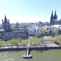 Отель Kunibert der Fiese Германия, Кёльн - отзывы, цены и фото номеров - забронировать отель Kunibert der Fiese онлайн приотельная территория