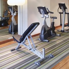 Отель Hilton Brussels City фитнесс-зал фото 4