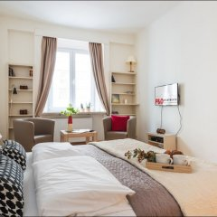 Апартаменты P&O Apartments Podwale комната для гостей фото 2