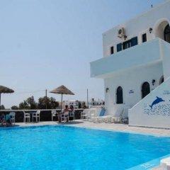 Отель Anemos Studios бассейн