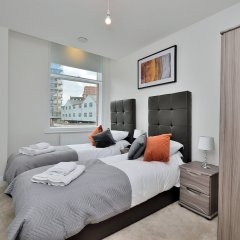 Отель Canal Street Apartments Великобритания, Манчестер - отзывы, цены и фото номеров - забронировать отель Canal Street Apartments онлайн комната для гостей фото 2