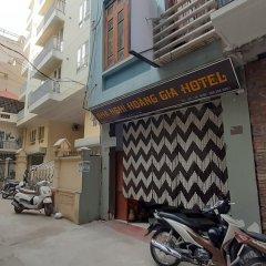 Отель OYO 833 Hoang Gia Motel Ханой вид на фасад