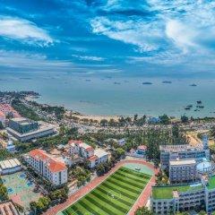 Отель Sea View Garden Hotel Xiamen Китай, Сямынь - отзывы, цены и фото номеров - забронировать отель Sea View Garden Hotel Xiamen онлайн пляж