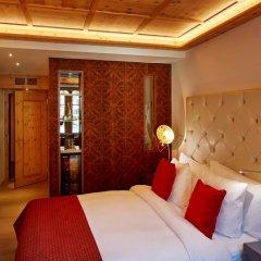 Grand Hotel Zermatterhof сейф в номере