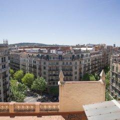 Отель Bbarcelona Corsega Flats Барселона балкон