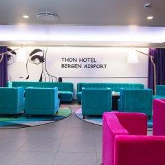 Отель Thon Hotel Bergen Airport Норвегия, Берген - отзывы, цены и фото номеров - забронировать отель Thon Hotel Bergen Airport онлайн интерьер отеля фото 3