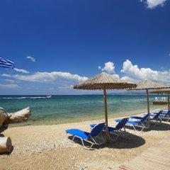 Отель Acrotel Athena Residence пляж фото 2