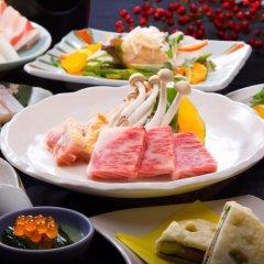 Отель Yufuin Nobiru Sansou Хидзи питание