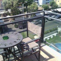 Отель Ferretti Beach Resort Римини балкон