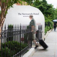 Отель The Normandy Hotel США, Вашингтон - отзывы, цены и фото номеров - забронировать отель The Normandy Hotel онлайн вид на фасад