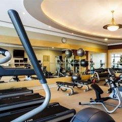 Отель Hilton Sharjah ОАЭ, Шарджа - 10 отзывов об отеле, цены и фото номеров - забронировать отель Hilton Sharjah онлайн фитнесс-зал фото 3